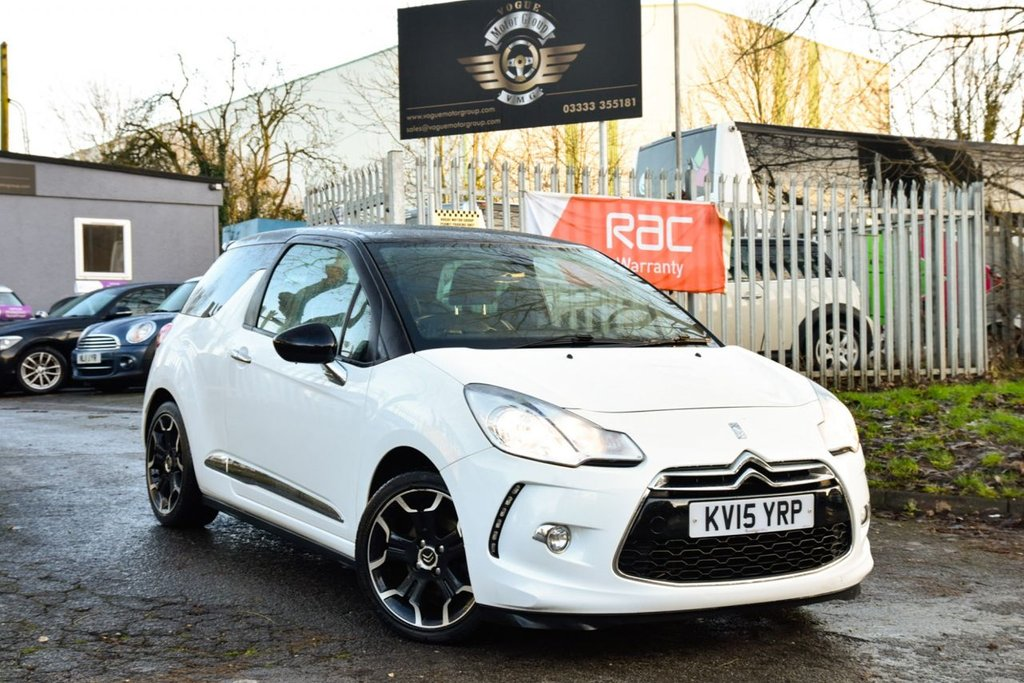 USED 2015 15 CITROEN DS3 1.6 THP DSIRE 3d 156 BHP