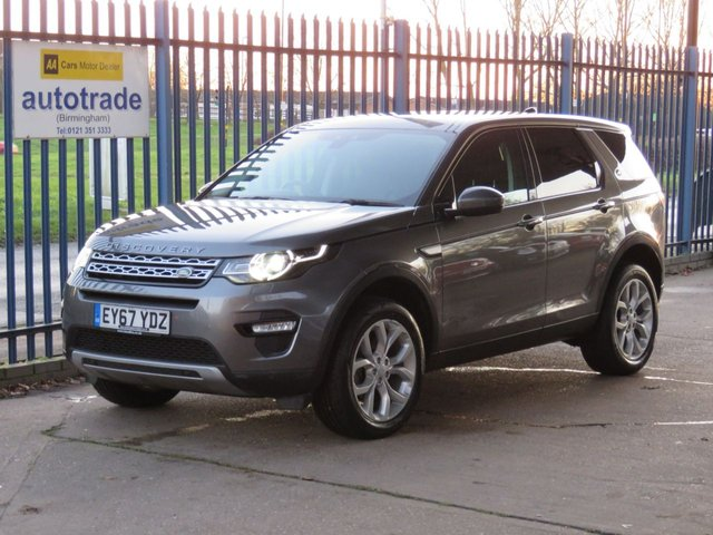 USED 2017 67 LAND ROVER DISCOVERY SPORT 2.0 TD4 HSE 5d 180 BHP Automatic,7 Seater,Full Leather,SatNav,Heated Seats,Rear Privacy Glass