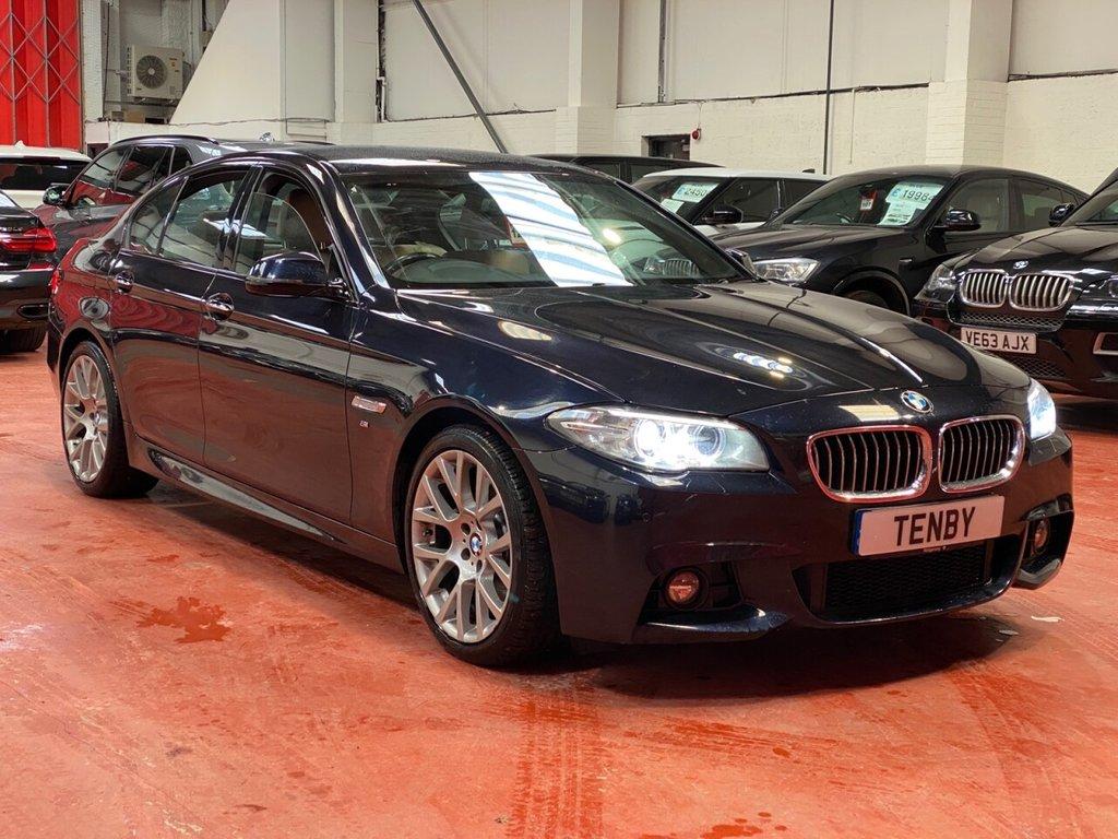 USED 2015 65 BMW 5 SERIES 3.0 530D M SPORT 4d AUTO 255 BHP