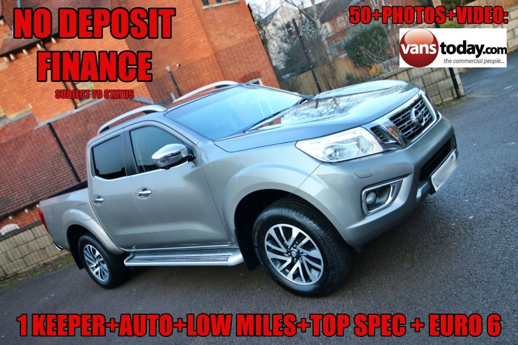 USED 2017 67 NISSAN NAVARA 2.3 DCI TEKNA 4X4 DOUBLE CAB PICK UP 190 BHP AUTO + 1 KEEPER + LOW MILES + TOP SPEC NO DEPOSIT FINANCE + 1 KEEPER + LOW MILES + AUTOMATIC