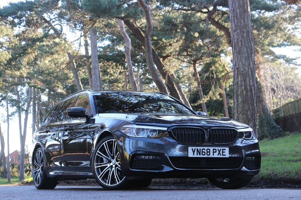 USED 2018 68 BMW 5 SERIES 540i XDRIVE M SPORT TOURING 335 BHP