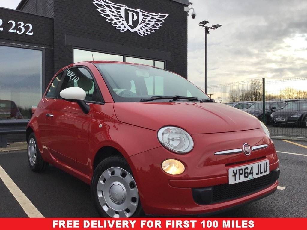USED 2014 64 FIAT 500 1.2 COLOUR THERAPY 3d 69 BHP FULL VALET, MOT, SERVICE AND WARRANTY INC - 7 DAYS MONEY BACK GUARANTEE - FREE DELIVERY - FINANCE RATES FROM 5.9%*