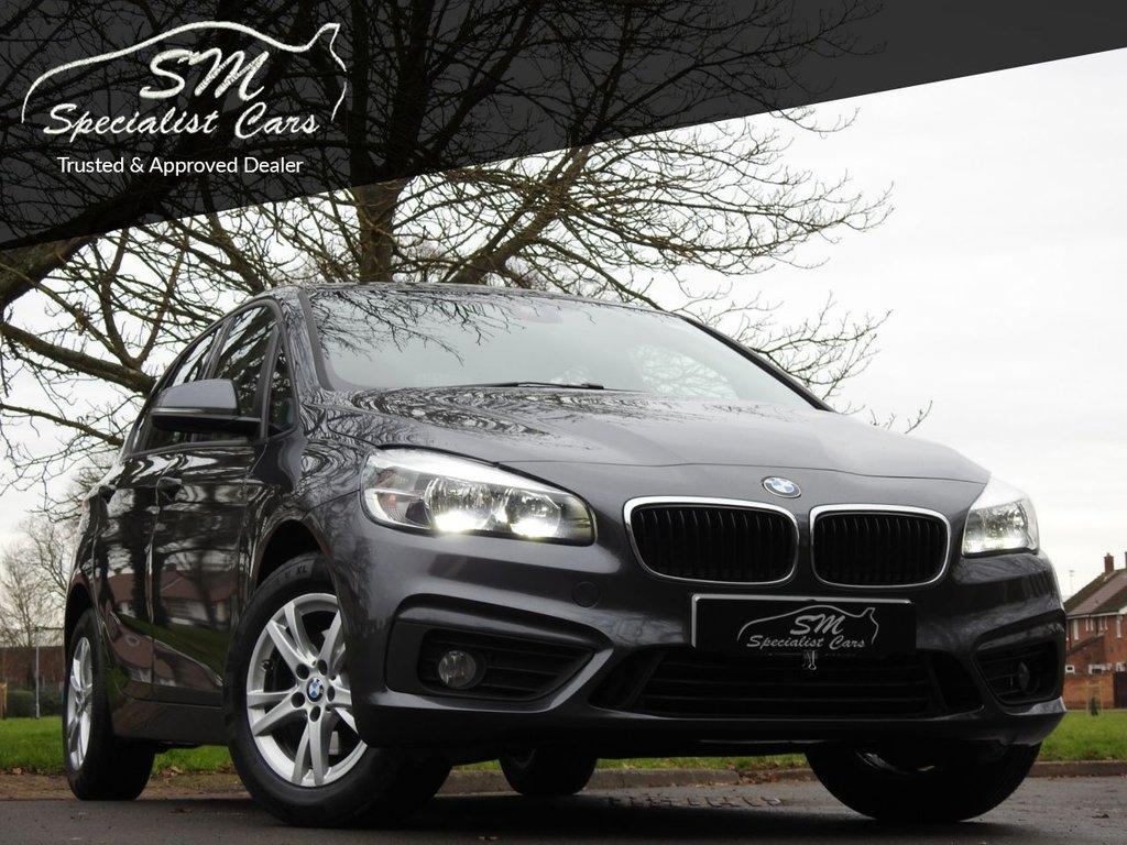 USED 2017 67 BMW 2 SERIES 2.0 218D SE ACTIVE TOURER 5d 148 BHP 1 OWNER ONLY 63K SAT NAV A/C VAT Q