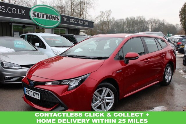 USED 2020 70 TOYOTA COROLLA 1.8 ICON TECH 5d 121 BHP