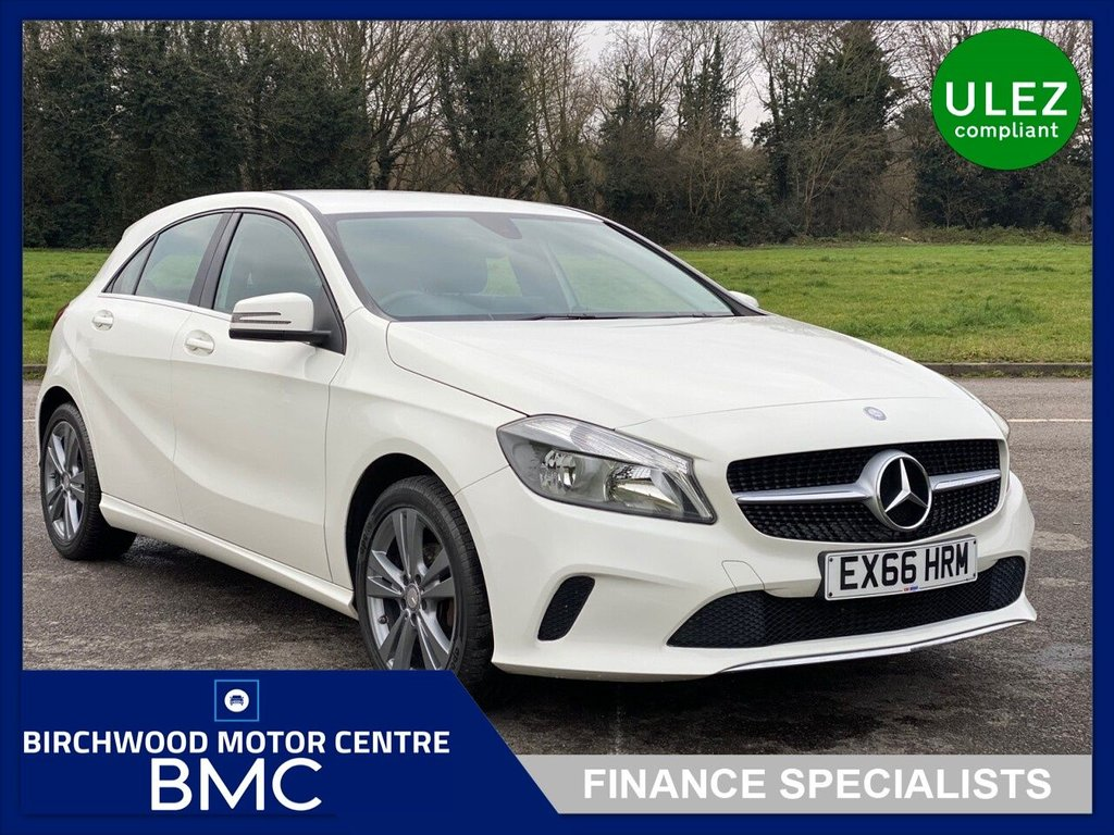 USED 2016 66 MERCEDES-BENZ A-CLASS 1.5 A 180 D SPORT 5d 107 BHP. Ulez Compliant, £20.00 Road Tax, LOW MILEAGE, FSH, SAT NAV, REVERSE CAMERA, BLUETOOTH, FULL LEATHER FULL, IMMACULATE THROUGHOUT