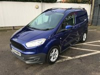 USED 2015 64 FORD TRANSIT COURIER 1.0 TREND 99 BHP NO VAT, RESERVE ONLINE