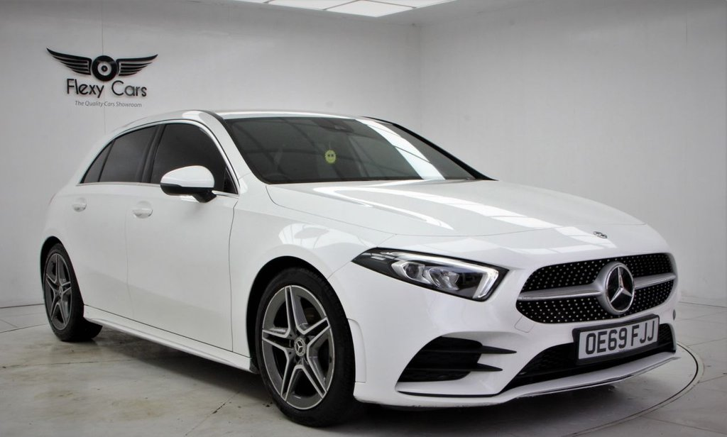 USED 2019 69 MERCEDES-BENZ A-CLASS 1.3 A 200 AMG LINE 5d 161 BHP
