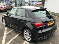 USED 2015 15 AUDI A1 1.4 SPORTBACK TFSI S LINE 5d 123 BHP 1 OWNER, FULL SERVICE HISTORY