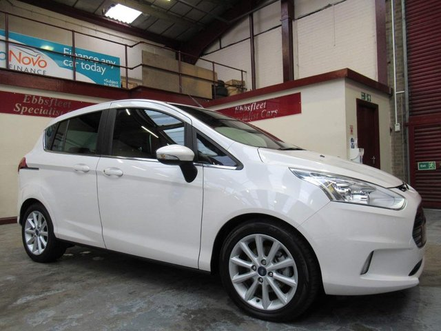 USED 2017 17 FORD B-MAX 1.0T EcoBoost Titanium (s/s) 5dr ***24000 MILES S/HISTORY***