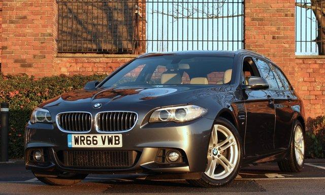 2016 66 BMW 5 SERIES 2.0 520D M SPORT 4d 188 BHP [ SATNNAV ]