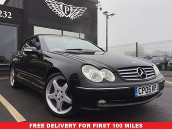2005 MERCEDES-BENZ CLK 320 Elegance 2dr Tip Auto £4495.00