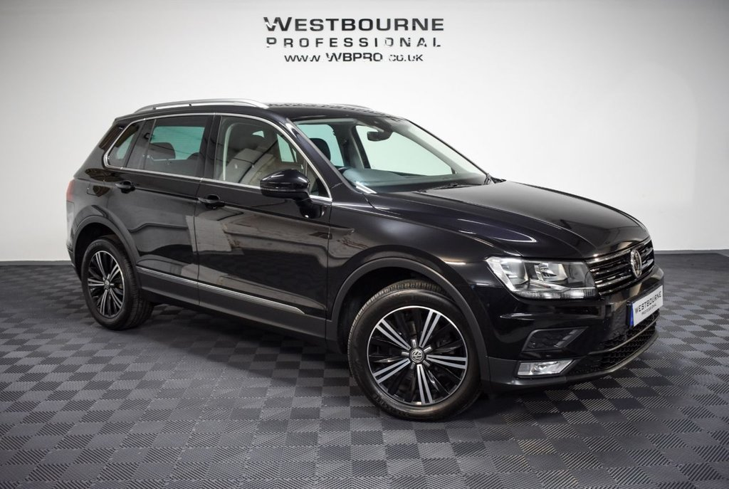 USED 2017 17 VOLKSWAGEN TIGUAN 2.0 SE NAV TDI BMT 4MOTION DSG 5d 148 BHP Click&Collect / Home Delivery