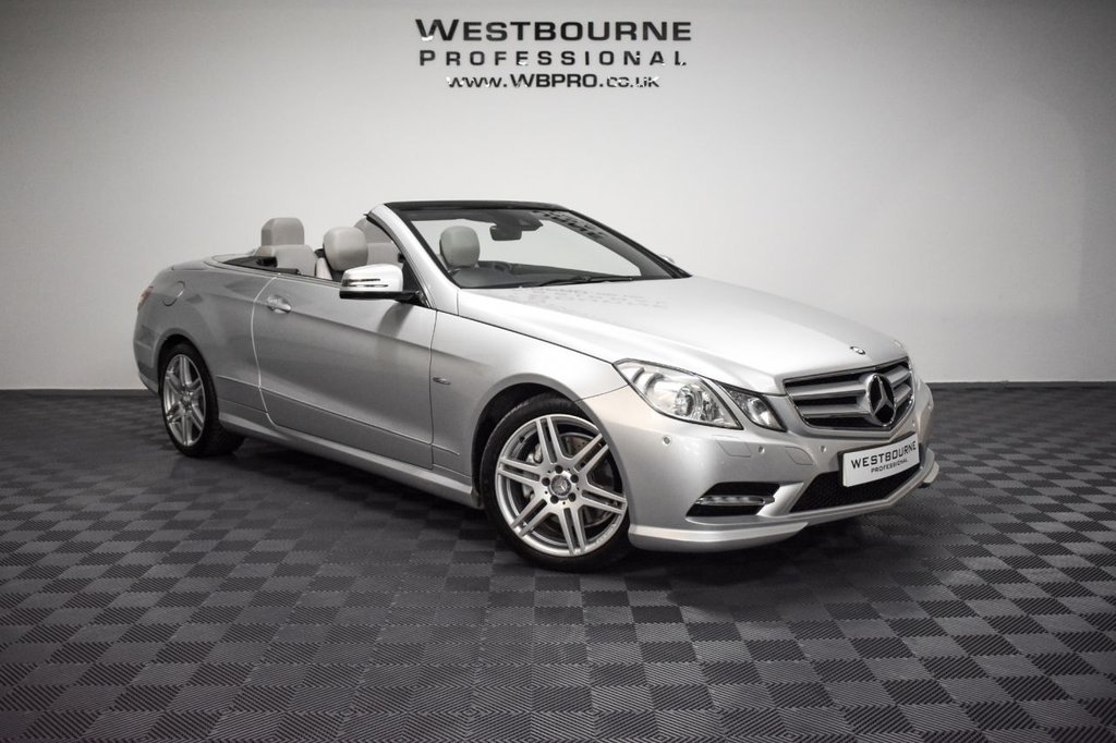 USED 2012 12 MERCEDES-BENZ E-CLASS 2.1 E250 CDI BLUEEFFICIENCY SPORT 2d 204 BHP Click&Collect / Home Delivery