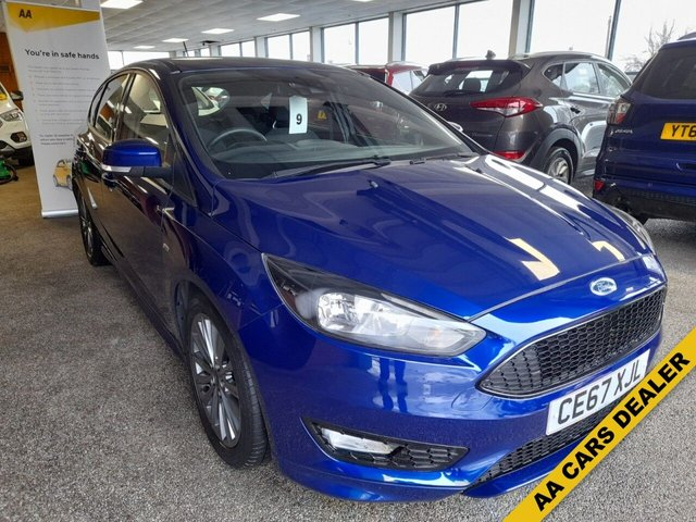 USED 2017 67 FORD FOCUS 1.0 ST-LINE NAVIGATION 5d 124 BHP