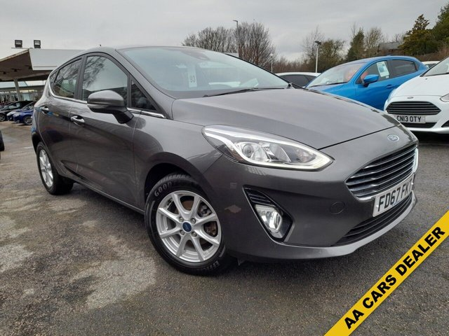 USED 2017 67 FORD FIESTA 1.0 ZETEC NAVIGATION (City Pack) 5d 99 BHP