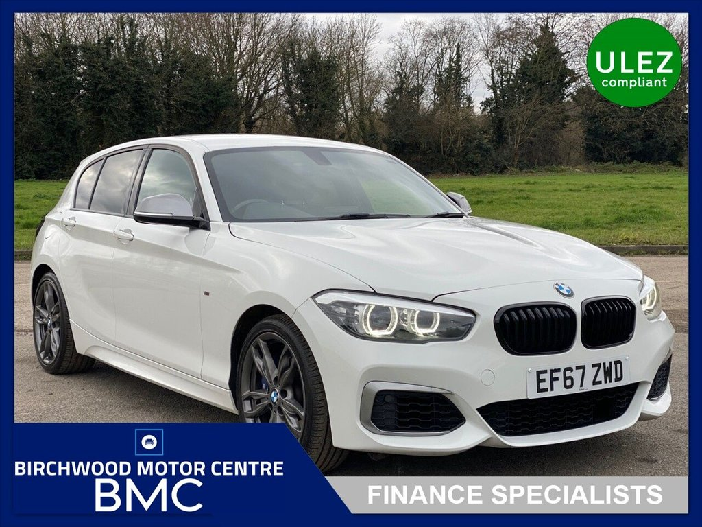 USED 2017 67 BMW 1 SERIES 3.0 M140I SHADOW EDITION 5d 335 BHP AUTOMATIC, Ulez Compliant, JUST 31,000m, FULL SERVICE HISTORY! JUST SERVICED AT BMW! GREAT SPECIFICATION-DRIVES SUPERB