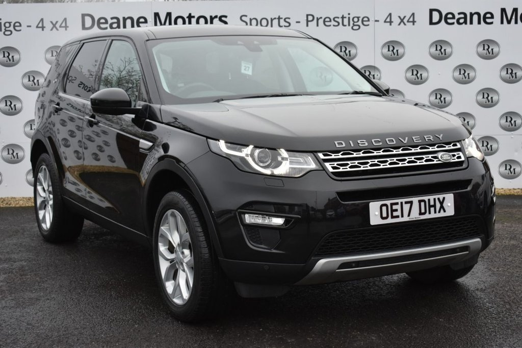 USED 2017 17 LAND ROVER DISCOVERY SPORT 2.0 TD4 HSE 5d 180 BHP PANROOF