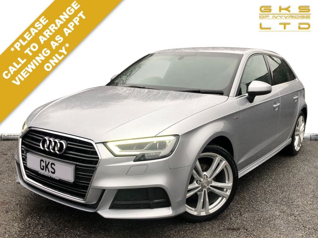 USED 2017 17 AUDI A3 1.6 TDI S LINE 5d 114 BHP ** NATIONWIDE DELIVERY AVAILABLE **