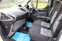 USED 2017 66 FORD TRANSIT CUSTOM 2.0 270 LIMITED LR P/V 129 BHP NO VAT LIMITED 2017 WARRANTY INCLUDED
