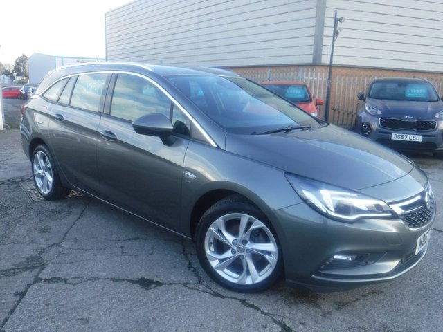 USED 2017 67 VAUXHALL ASTRA 1.4 SRI 5d 148 BHP FINANCE ARRANGED**PART EXCHANGE WELCOME**1 OWNER*CRUISE*PROJECTION*A/C*LANE DEPART ASSIST*P SENSORS*6 SPEED