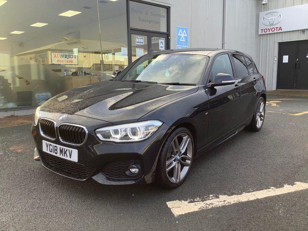USED 2018 18 BMW 1 SERIES 2.0 118D M SPORT 5d 147 BHP