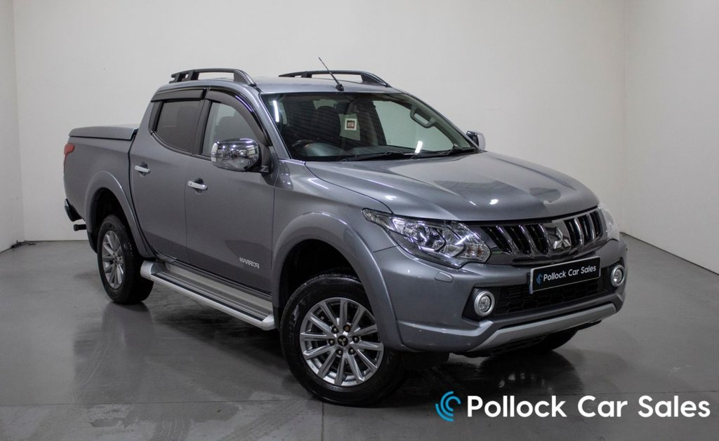 USED 2018 68 MITSUBISHI L200 WARRIOR AUTO 178BHP 3.5T NEVER TOWED MITSUBISHI LID 3.5T Towing, Never Towed, Mitsubishi Lid