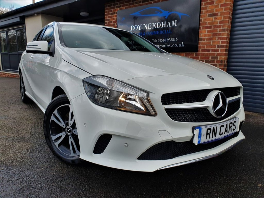 USED 2017 17 MERCEDES-BENZ A-CLASS 1.6 A160 SE EXECUTIVE 5DR 102 BHP NAV - REV CAM - HEATED LEATHER