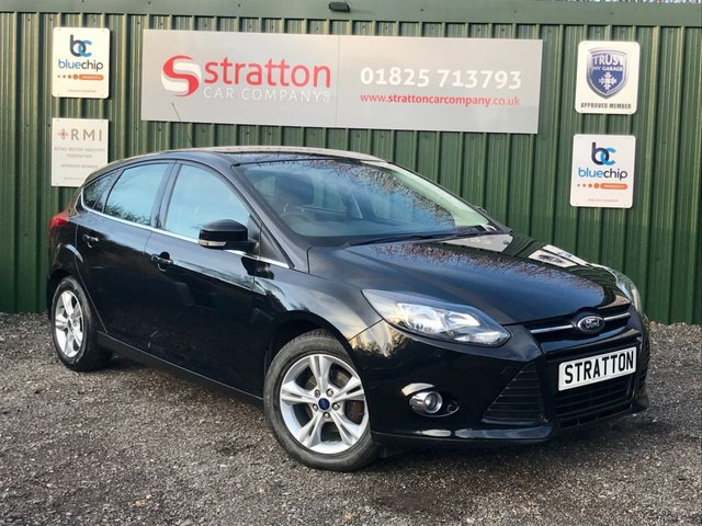 USED 2012 62 FORD FOCUS 1.0 ECOBOOST ZETEC 5d 99 BHP, ONLY 54,617 MILES