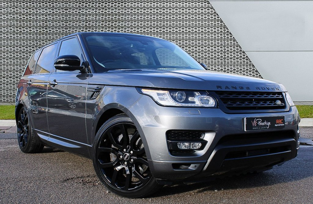 USED 2014 64 LAND ROVER RANGE ROVER SPORT 3.0 SDV6 HSE DYNAMIC 5d 288 BHP *REAR-TV'S/AUTOBIOGRAPHY PACK/PAN ROOF*