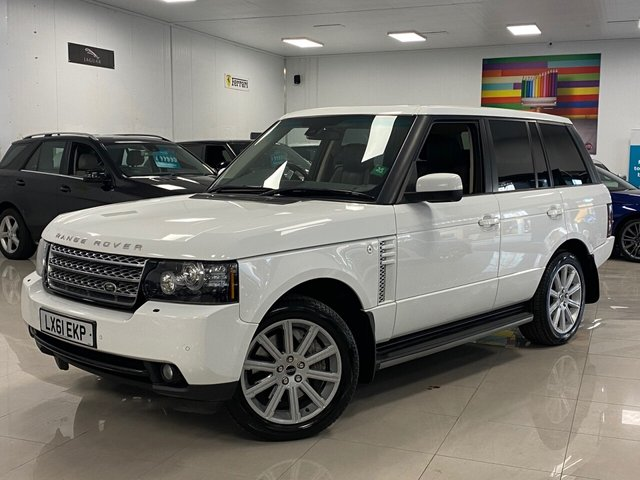 USED 2012 61 LAND ROVER RANGE ROVER 4.4 TDV8 VOGUE 5d 313 BHP 9 SERVICES, 2 KEYS, 2 KEEPERS!, FULLY LOADED, 313 BHP