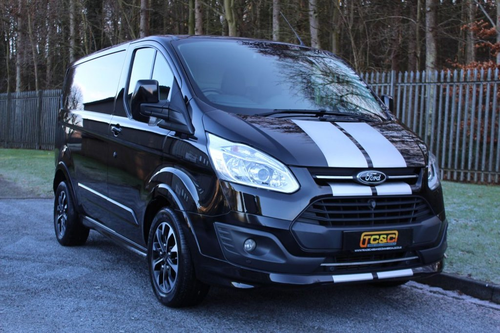 USED 2017 67 FORD TRANSIT CUSTOM 2.0 290 SPORT LR P/V 168 BHP A STUNNING ONE OWNER GENUINE FORD CUSTOM SPORT WITH LOW MILEAGE!!!