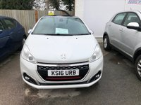 USED 2016 16 PEUGEOT 208 1.6 THP GTI PRESTIGE 3d 5 Seat Family Sports Hatchback Stunning in White with 208 BHP Performance and Great High Spec. New Battery, Brakes & Clutch November 2020  Ready to Finance and Drive Away Full Service History