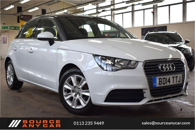 USED 2014 14 AUDI A1 1.2 SPORTBACK TFSI SE 5d 86 BHP + 1 PREVIOUS OWNER + SH + 6 MONTHS WARRANTY +