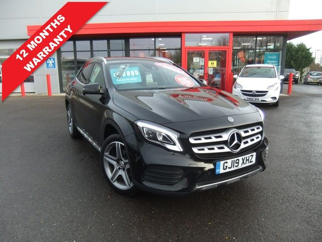 USED 2019 19 MERCEDES-BENZ GLA-CLASS 1.6 GLA 200 AMG LINE PREMIUM 5d 154 BHP Huge Specification