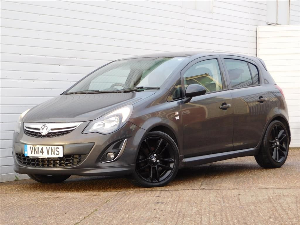 USED 2014 14 VAUXHALL CORSA 1.2 LIMITED EDITION CDTI ECOFLEX 5d 73 BHP 1 OWNER CRUISE CONTROL FSH