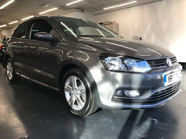 USED 2017 17 VOLKSWAGEN POLO 1.2 MATCH EDITION TSI 3d 89 BHP 2 OWNERS with FULL VW SERVICE HISTORY, BLUETOOTH, ALLOYS, CONVENIENCE PACK, CRUISE & PARK PACK, CAR NET APP-CONNECT, PRIVACY GLASS, ELECTRIC FOLDING MIRRORS