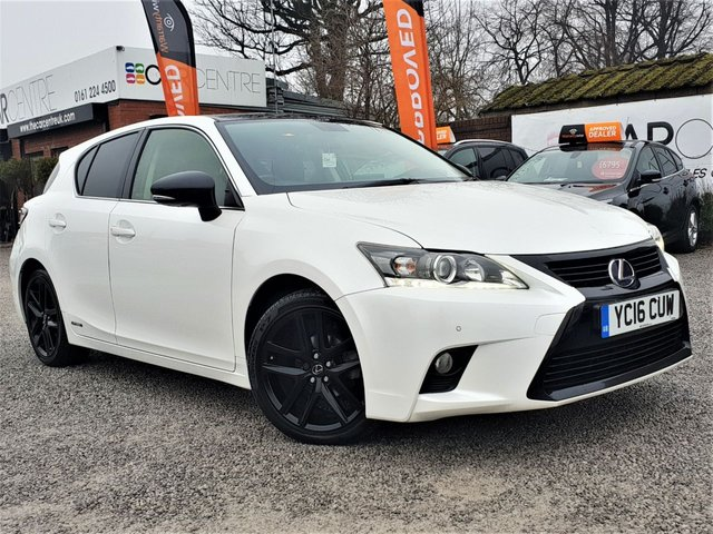 USED 2016 16 LEXUS CT 1.8 200H SPORT 5d 134 BHP 1 OWNER FROM NEW +FULL SERVICE