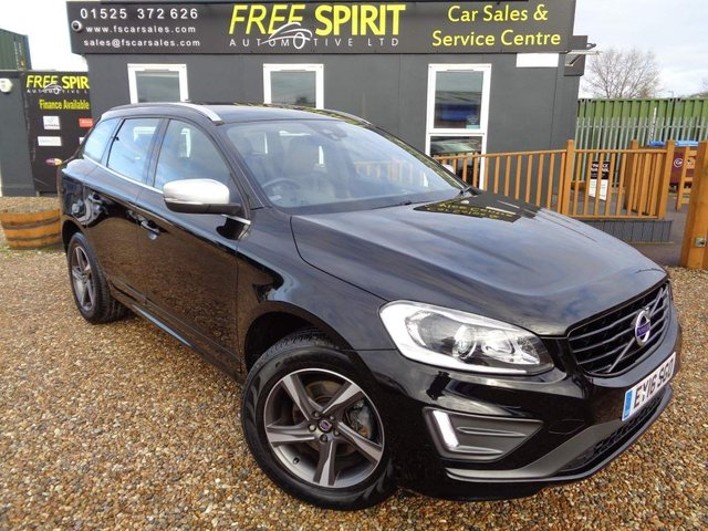 USED 2016 16 VOLVO XC60 2.4 D4 R-Design Lux Nav Geartronic AWD (s/s) 5dr Winter Pack , Nav, Leather