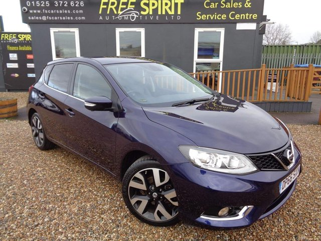 USED 2017 66 NISSAN PULSAR 1.2 DIG-T Tekna (s/s) 5dr Heated Leather, Nav, Rear Cam