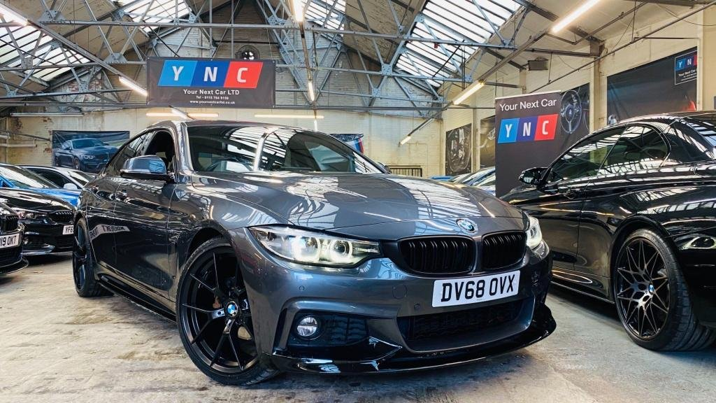 USED 2018 68 BMW 4 SERIES 2.0 420i GPF M Sport Gran Coupe Auto (s/s) 5dr PERFORMANCEKIT+20S+FACELIFT