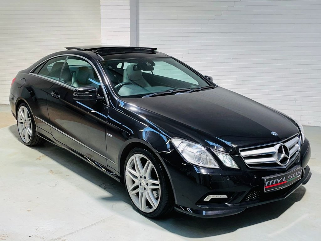 USED 2011 11 MERCEDES-BENZ E-CLASS 2.1 E250 CDI BLUEEFFICIENCY SPORT 2d 204 BHP Glass Panoramic Roof, Heated Leather Interior, Sat Nav