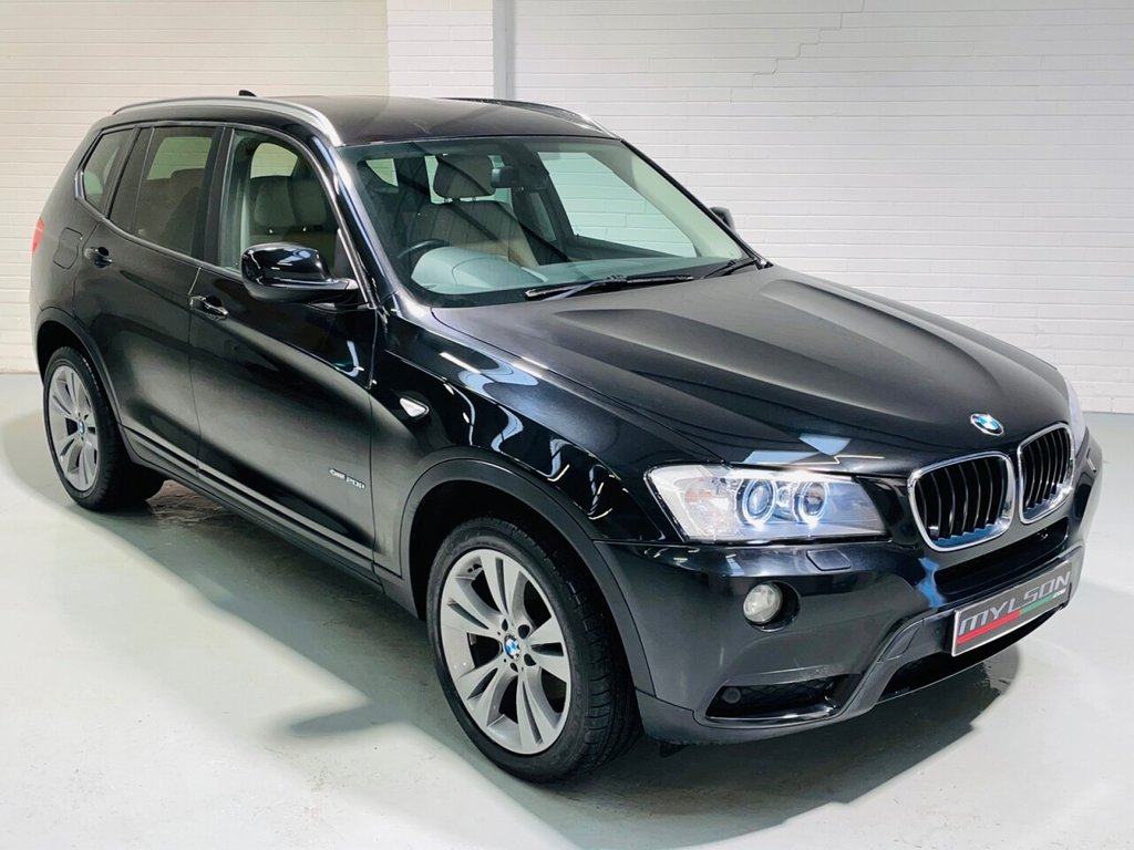 USED 2013 62 BMW X3 2.0 XDRIVE20D SE 5d 181 BHP DUE IN.. High Spec, Low Mileage