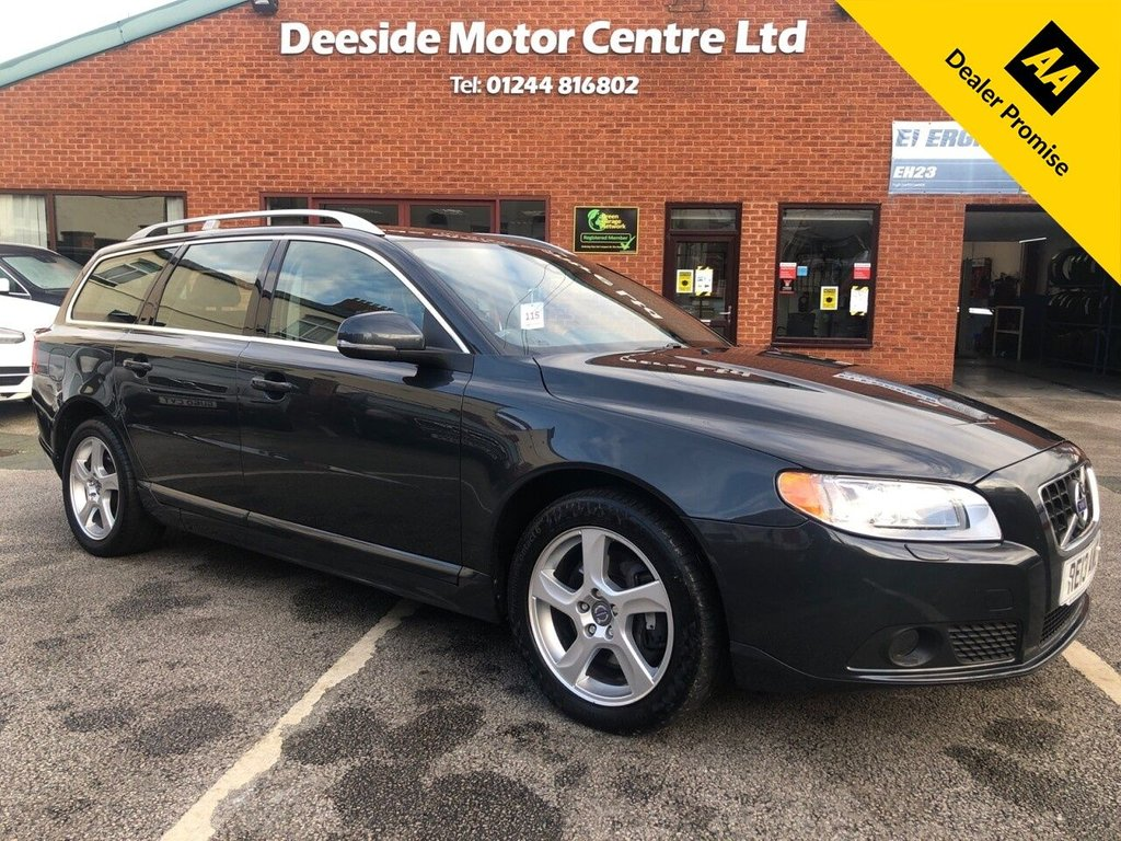 USED 2013 13 VOLVO V70 2.4 D5 SE LUX 5d 212 BHP FULL SERVICE HISTORY, PART VOLVO MAIN DEALER, PART VOLVO SPECIALIST