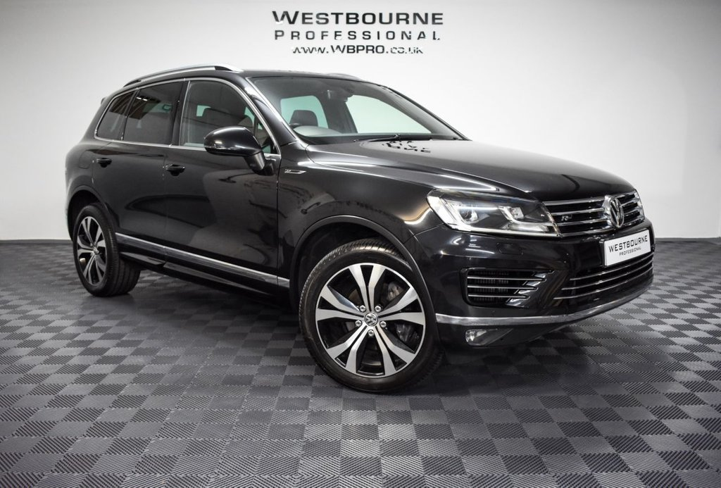 USED 2015 15 VOLKSWAGEN TOUAREG 3.0 V6 R-LINE TDI BLUEMOTION TECHNOLOGY 5d 259 BHP Click&Collect / Home Delivery