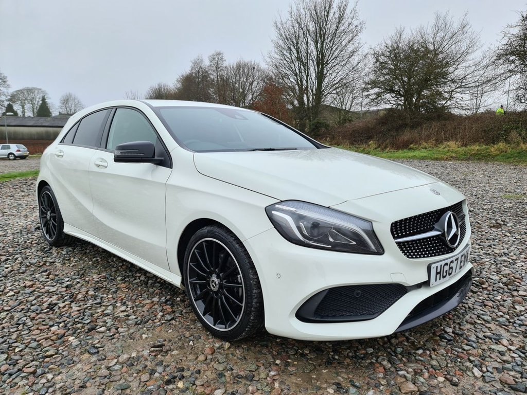 USED 2017 67 MERCEDES-BENZ A-CLASS 1.6 A 200 AMG LINE PREMIUM 5d 154 BHP Free Next Day Nationwide Delivery