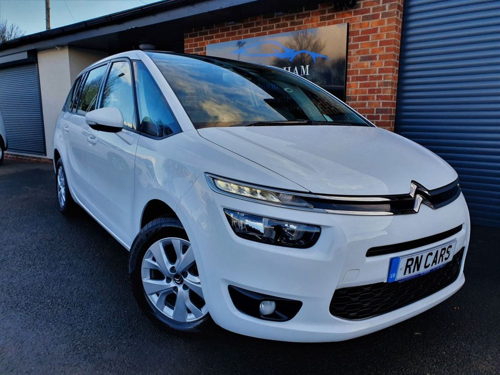 USED 2016 16 CITROEN C4 GRAND PICASSO 1.6 BLUEHDI VTR PLUS 5DR 98 BHP ** REVERSING CAMERA - R/SENSORS **