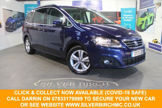USED 2018 18 SEAT ALHAMBRA 2.0 TDI XCELLENCE 5d 148 BHP Huge Spec, pan Roof