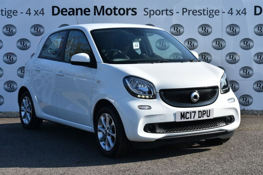USED 2017 17 SMART FORFOUR 0.9 PASSION T 5d 90 BHP