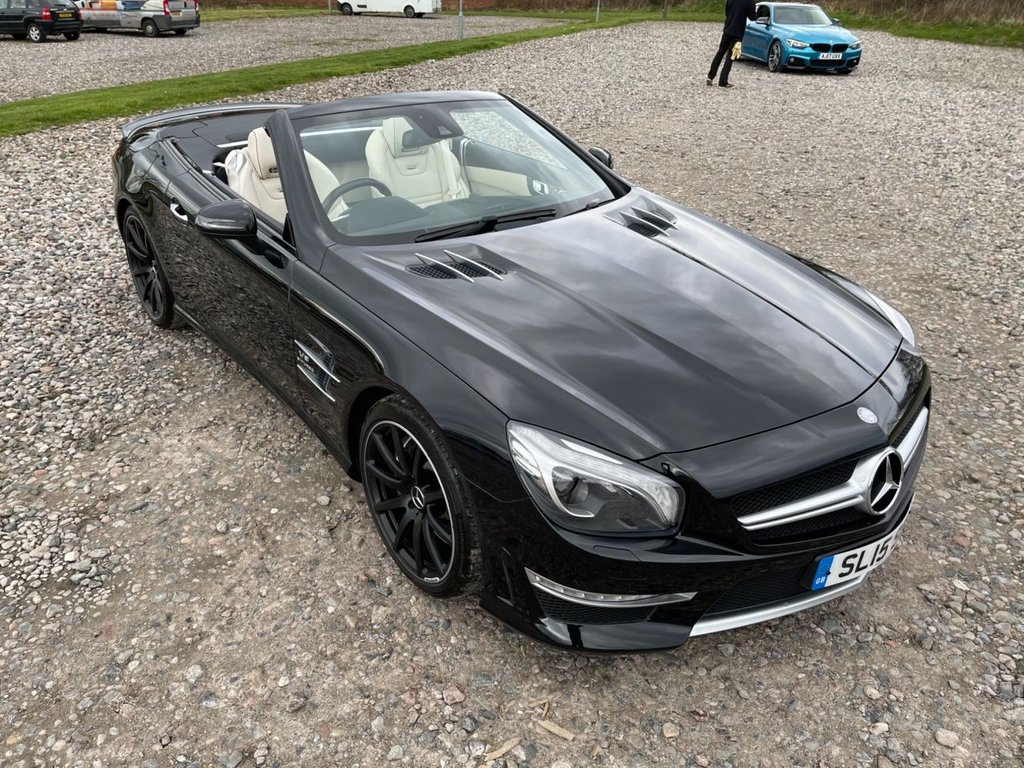 USED 2015 15 MERCEDES-BENZ SL 5.5 AMG SL 63 2d 577 BHP Free Next Day Nationwide Delivery