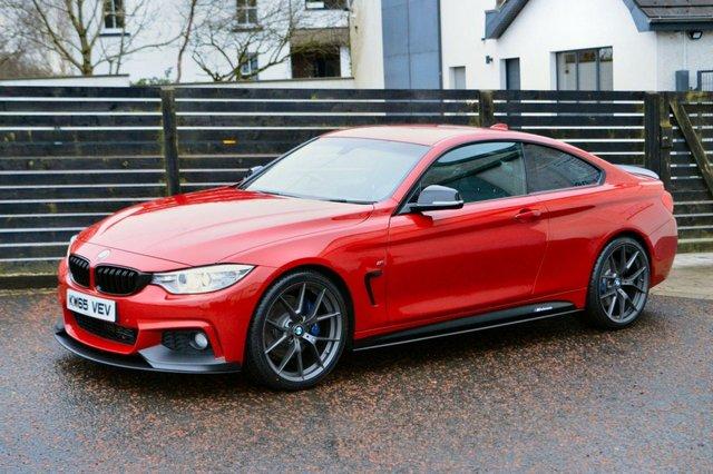2016 65 BMW 4 SERIES 2.0 420D M SPORT 2d 188 BHP